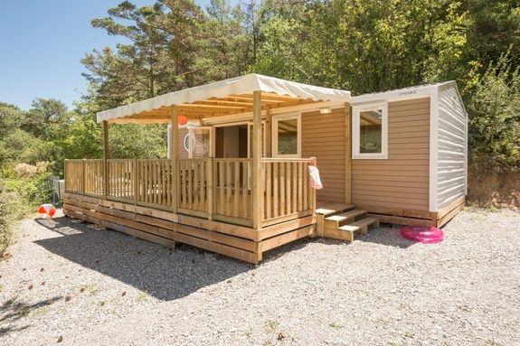 espace luxe camping Hautes-Alpes familial piscine escalade