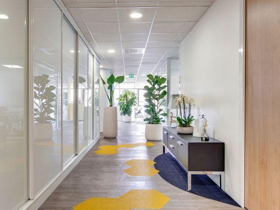 Architecte décorateur intérieur circulation entreprise