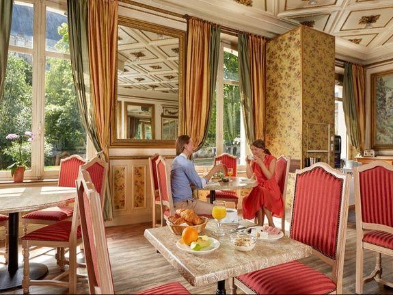 Petit déjeuner hotel de France et de Guise Blois centre