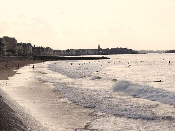 Saint Malo digue