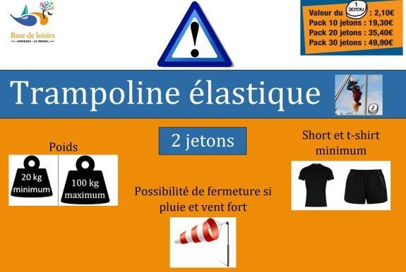 Trampoline Seine maritime
