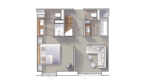 hotel-bas-des-pistes-val-isere-plan-suite-duplex
