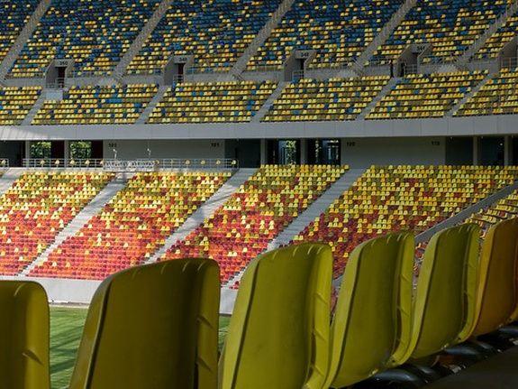 Tribunes stade extérieur