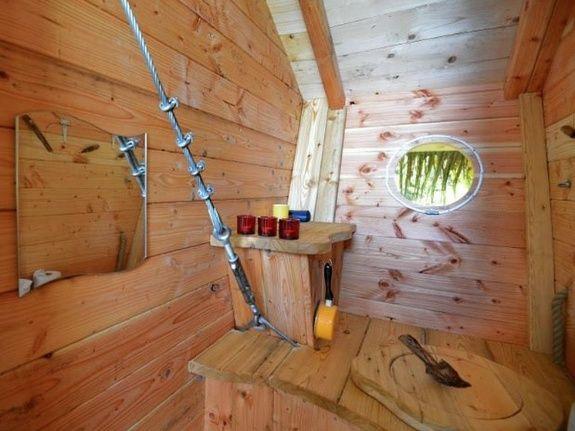 Cabane de Guerlédan toilettes