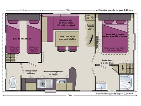 plan Mobilhome confort  1