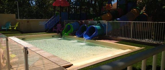 toboggan camping piscine familial proche ardeche