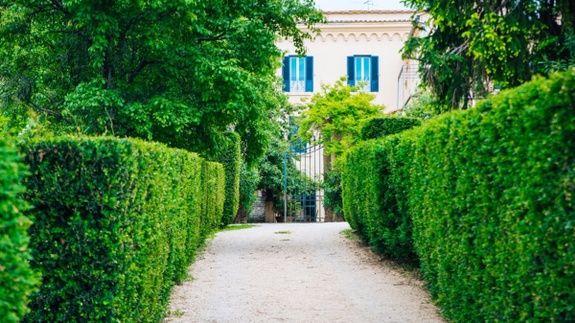 Giardino castello Santa Margherita