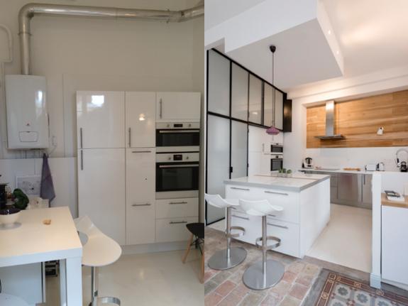 renovation-appartement-lyon-cuisine-avant-apres