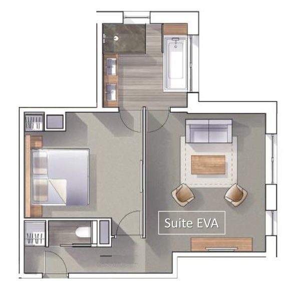 hotel-spa-val-isere-suite-eva-plan