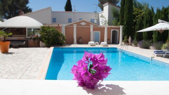 chambres-d-hotes-a-Saint-Raphael-Frejus-piscine