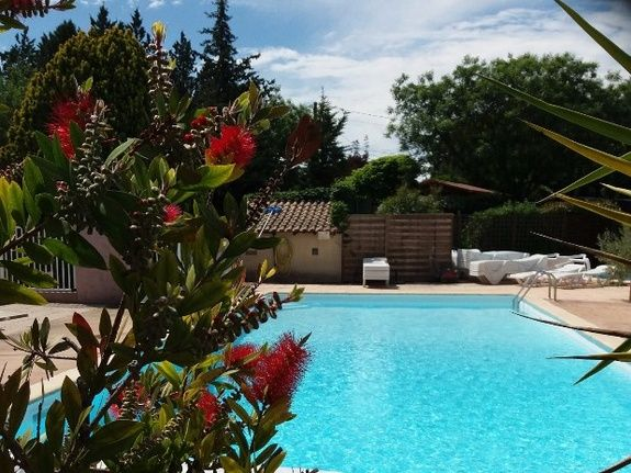 Camping l'olivier - swimming pool