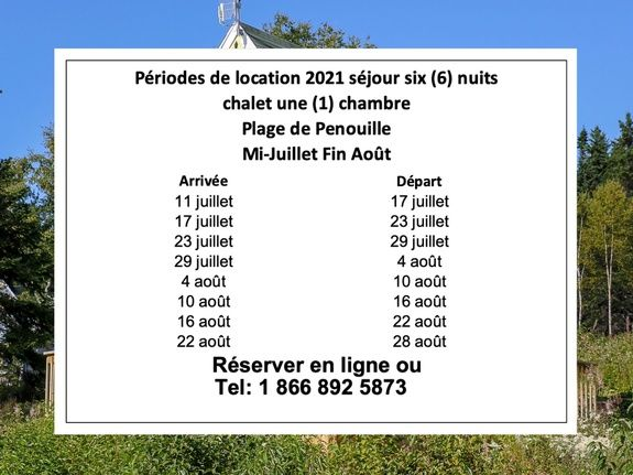 6 nuits 2021