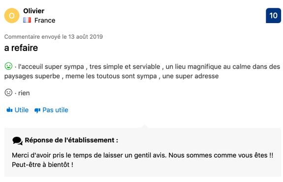 Commentaire Booking 5