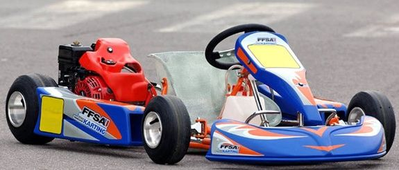 KARTING CENTER TOURS (37) ECOLE FRANCAISE KARTING ENFANT