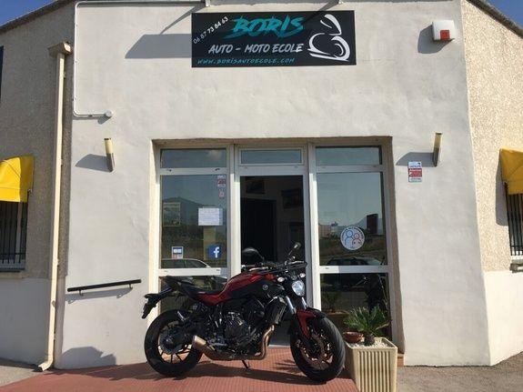 Boris Auto-Moto école à Argelès-sur-Mer permis auto, moto ou cyclo