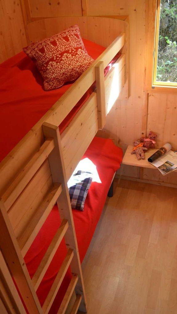 Chambre enfants camping rocamadour Lot piscine chauffée padirac