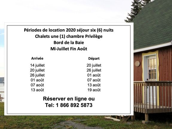 6 nuits 2020