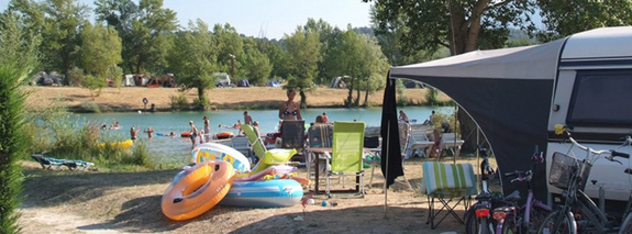 camping vercors drome piscine chauffée lac