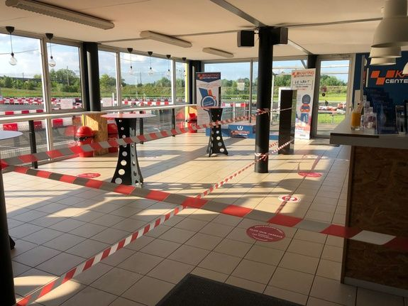 KARTING CENTER TOURS - REOUVERTURE 13 MAI - COVID19