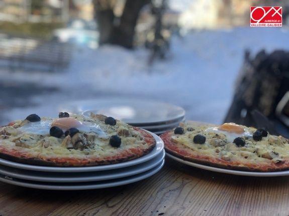 Pizzas cuites Ravito'