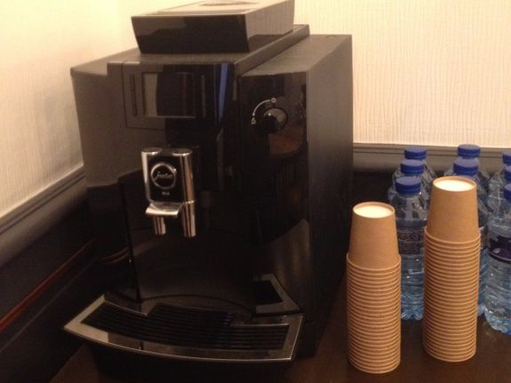 Meeting room coffee machine