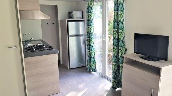 New Loggia Premium 33m² - kitchenette camping familial piscine fayence var provence