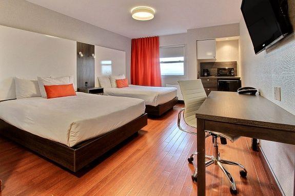 Hotel-boulevard-laurier-quebec-deux-lits-queen