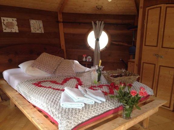 Pack Romantique camping vercors drome piscine chauffée lac