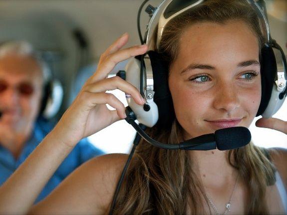 Seaplane passenger
