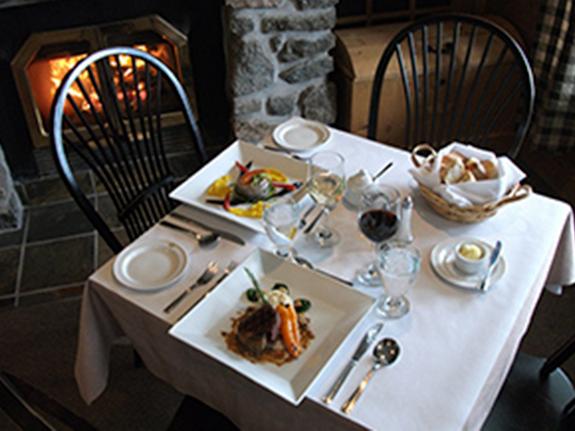Pourvoirie du lac blanc saint alexis des monts restaurant