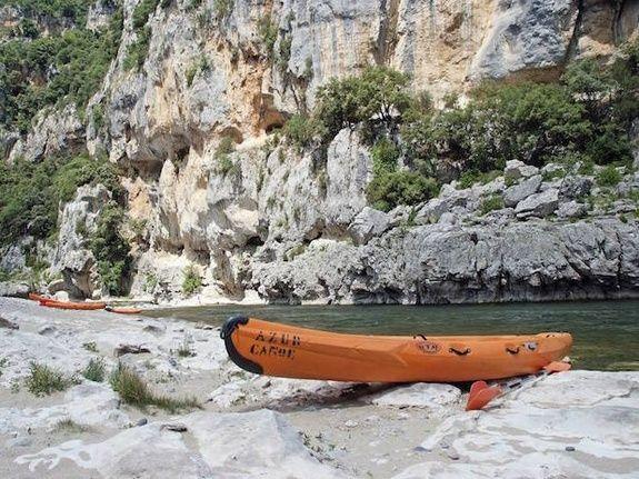 Azur canoës