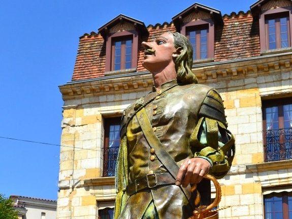 cyrano de bergerac-ville de bergerac-Entre Lot et Garonne-Dordogne-Périgord-maison d'hôtes de charme-au pays des bastides-Monflanquin et Villeréal