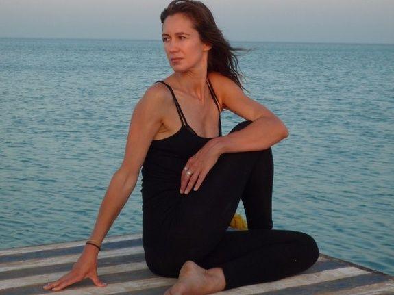 Géraldine Duchanaud hatha yoga
