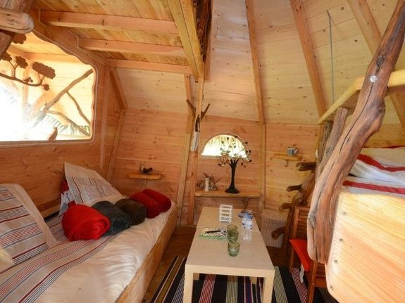 Cabane de la Renardière chambre