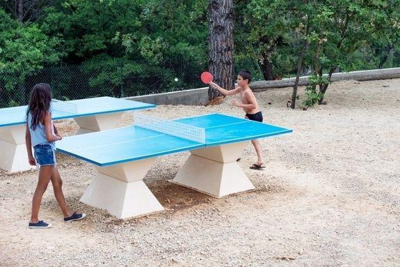 ping pong sport activités camping