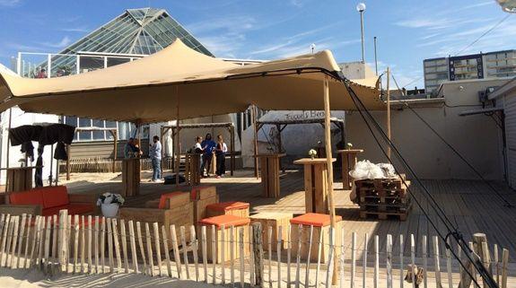 tente terrasse restaurant
