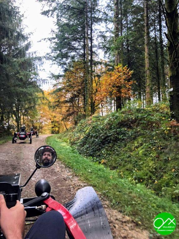 Randonnée Buggy - Village d+ Les Roches de Scoeux