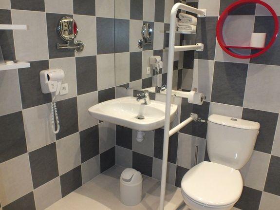 salle de bains Triple PMR