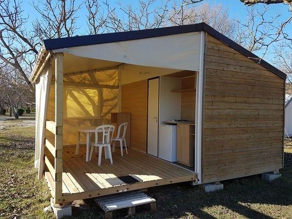 Cottage Toilé camping vercors drome piscine chauffée lac