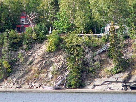 Escalier Bord de la Baie