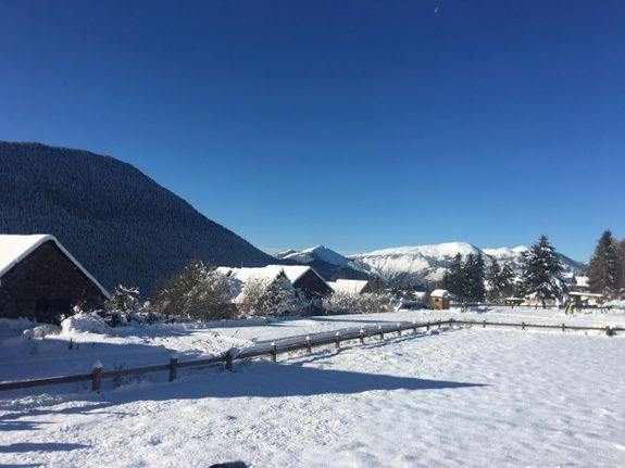 Saint Dalmas Valdeblore sous la neige