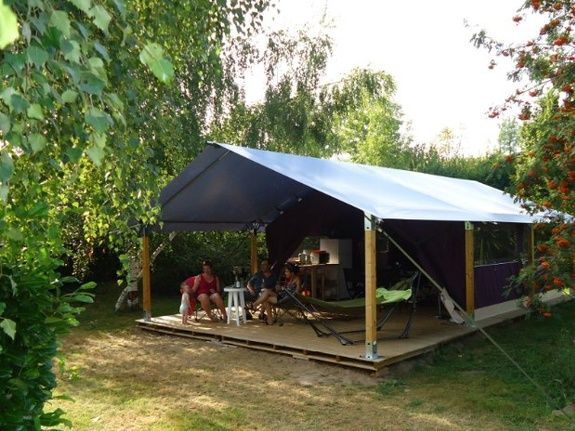 Lodge camping familial carpentras provence Vaucluse
