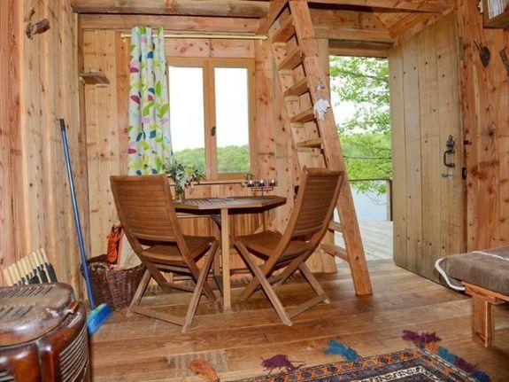 Cabane de l'Engoulevent salon