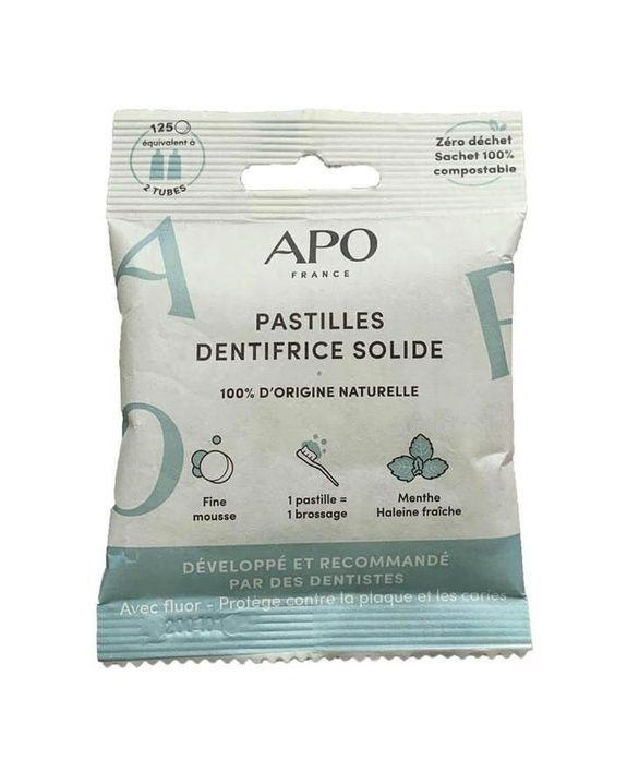 Pastilles dentifrice APO