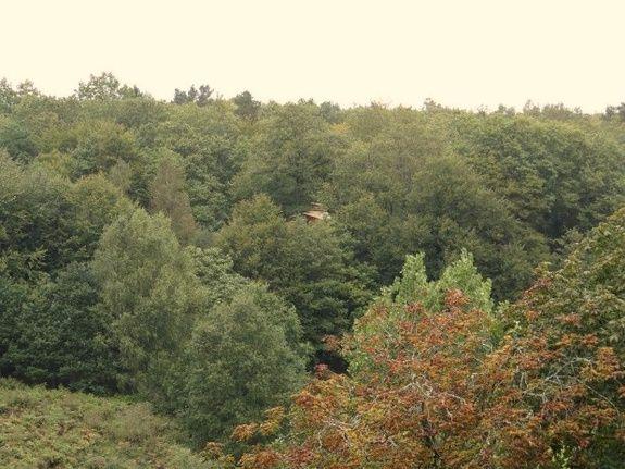 Cabane de la Charbonnière vue