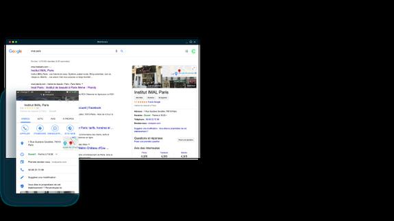 google my business beauté bien-être