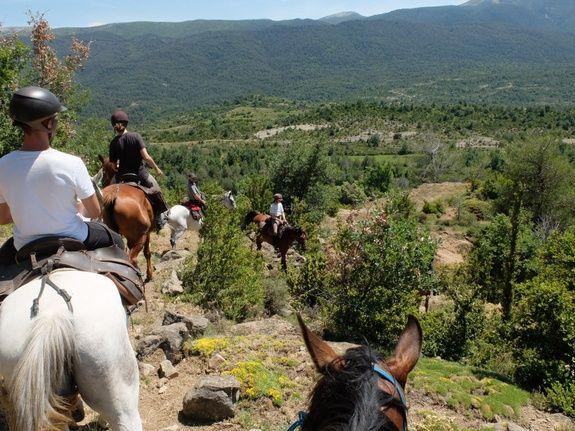 Horse riding Aragon