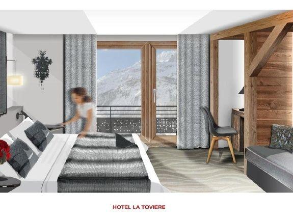 Chambre Superieure hotel 4 etoiles val d'isère