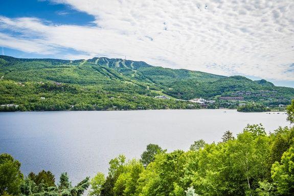 Lac et Montagne du Mont-tremblant