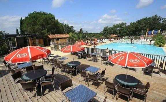 piscine restaurant camping reflets quercy